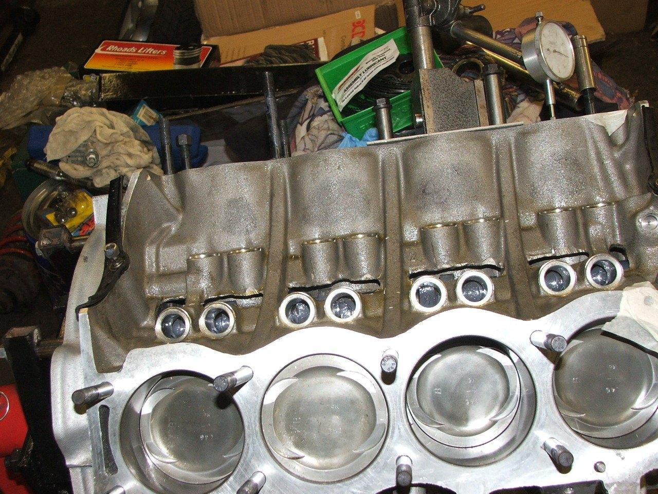 Natural Gas Engine Valve Recession